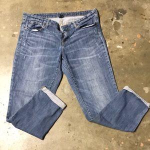 """GAP premium boyfriend jeans.  Sz 12/31. Inseam 27"""""""